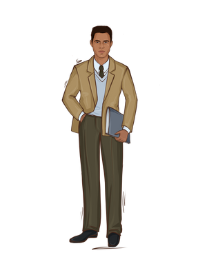 Load image into Gallery viewer, Newscaster Male Doll - goosbytwins