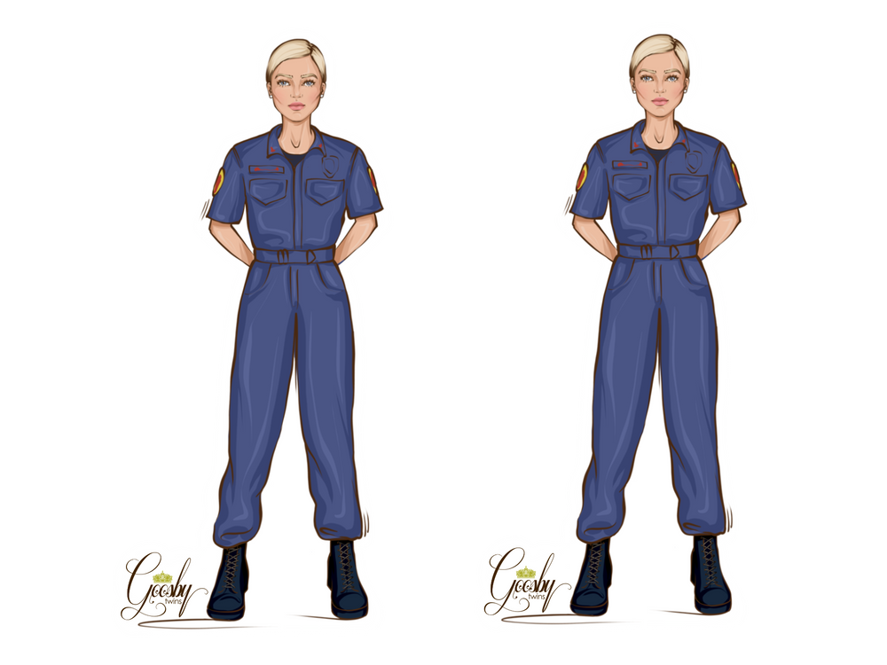 Paramedic Female Doll - goosbytwins