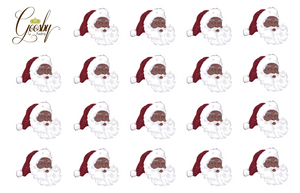 Load image into Gallery viewer, Black Santa