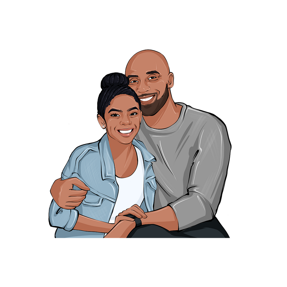 Load image into Gallery viewer, Kobe Bryant & Gianna Bryant