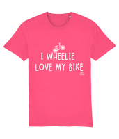 I Wheelie Love My Bike Pedal Threadz Cycling T-Shirt
