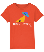 Pedal Threadz Cycling Gift T-Shirts Kids - Trail Invader
