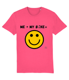 Bike Happy Equation Adults Pedal Threadz T-Shirt