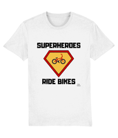 Pedal Threadz T-Shirt Gift Ideas For Cyclists - Superheroes Ride Bikes