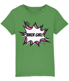 Biker Girl Kids Cycling Gift T-Shirt