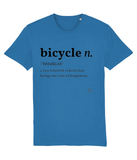 Bicycle Definition Adults Pedal Threadz T-Shirt