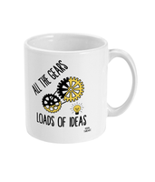 All The Gears Loads Of Ideas Pedal Threadz Mug