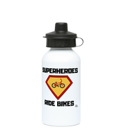 400ml Kids Drinks Bottle Pedal Threadz Superheroes Ride Bikes
