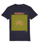 Bikerdelic Pedal Threadz Adult Cycing T-Shirt