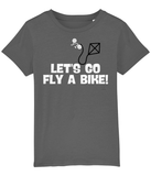 Let's Go Fly A Bike Pedal Threadz Cycling Gift T-Shirts - Kids
