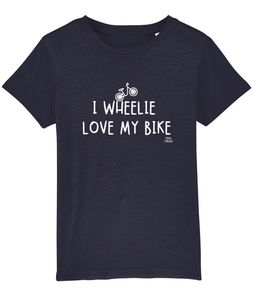 Pedal Threadz Cycle T-Shirt I Wheelie Love My Bike