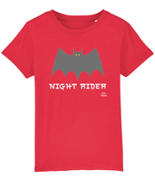Night Rider Pedal Threadz Cycling Gift T-Shirts - Kids