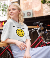 Bike Happy Equation T-Shirt Adults Pedal Threadz