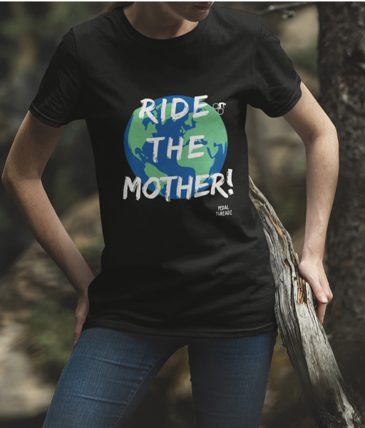 Ride The Mother Pedal Threadz Cycling T-Shirt