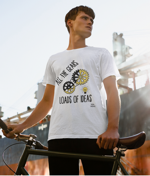 All The Gears Loads Of Ideas Pedal Threadz Cycling T-Shirts