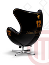 RACING DESIGN CHAIR Black and Gold 1985