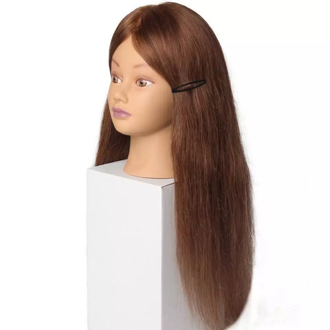 "TÊTE DE PRATIQUE / mannequin head - 24"" - goodies"
