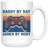 Daddy By Day Gamer By Night Mug