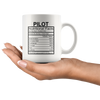 Pilot Nutritional Facts Mug