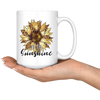 Be The Sunshine Sunflower Mug