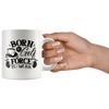 Born To Golf Force To Work Mug