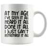 I Just Can't Remember It All Mug