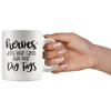 Heroes Dont Wear Capes They Wear Dog Tag Mug