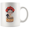 Frida With Cat Mug