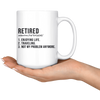 Retired Definition Mug