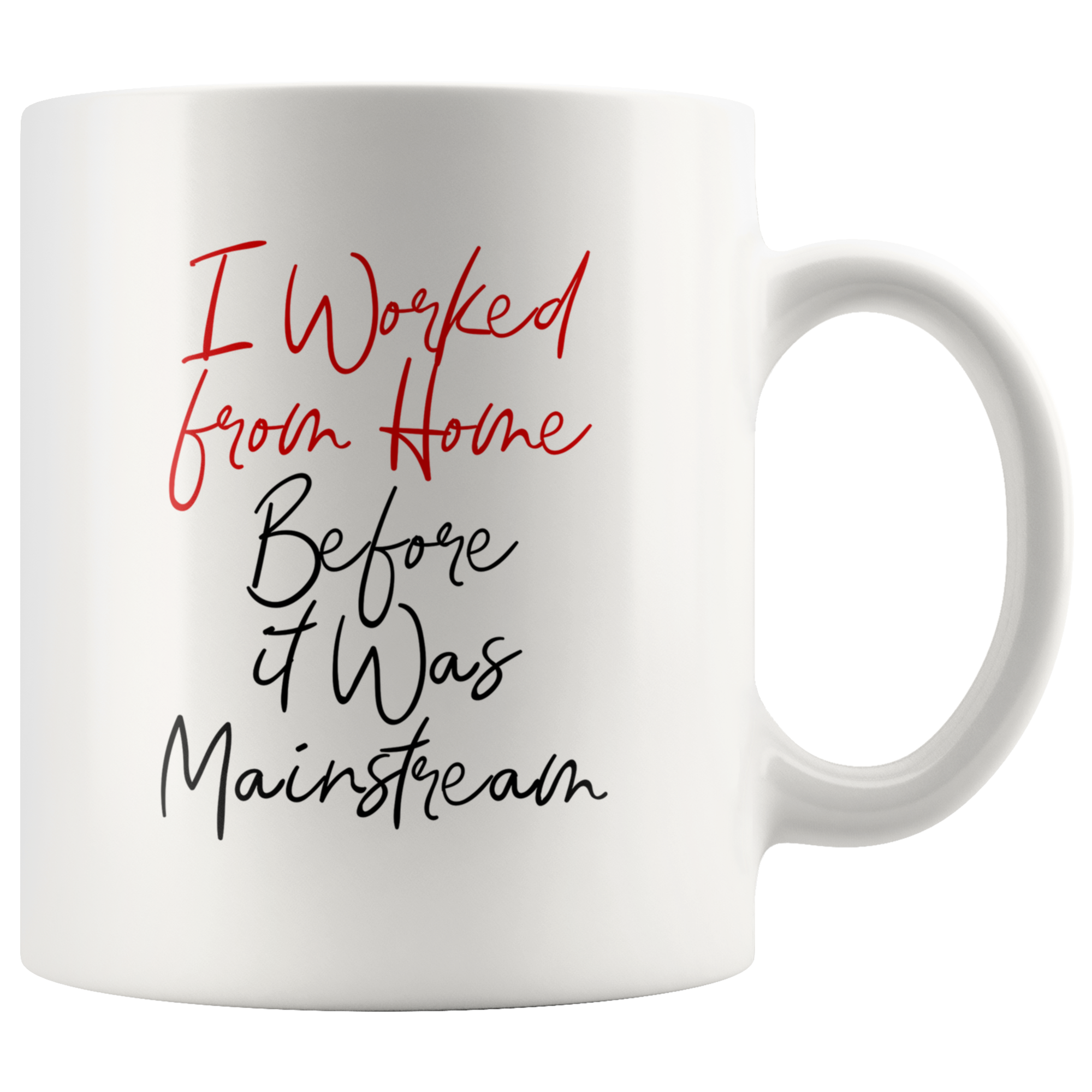 I Worked From Home Before It Was Mainstream Mug