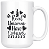 Real Unicorns Have Curves Mug