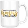 The Badass Woman in Me Honors the Badass Woman In You Mug