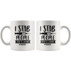 I Stab People For A Living Nurse Mug