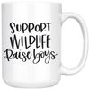 Support Wildlife Raise Boys Mug