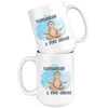 Namast'ay 6 Feet Away Sloth Mug