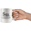 Boss Woman Definition Mug
