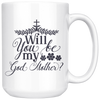 Will You Be My God Mother Mug