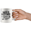 Wife Mother Coffee Lover Mug
