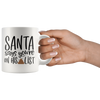 Santa Says You're On His Shit List Mug
