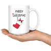 Merry Christmas Stocking Santa Mug