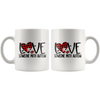 Love Someone With Autism Mug