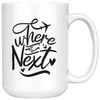 Where To Next Mug
