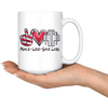 Peace Love Save Lives Mug
