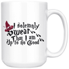 I Solemnly Swear That I Am Up To No Good Witch Hat Mug