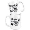 Home is Where The Cats Are Mug