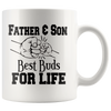 Father & Sun Best Buds For Life Mug