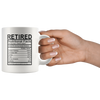 Retired Nutritional Facts Mug