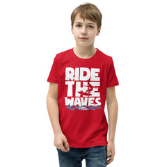 Ride The Waves Youth Boys' Beach T-Shirt