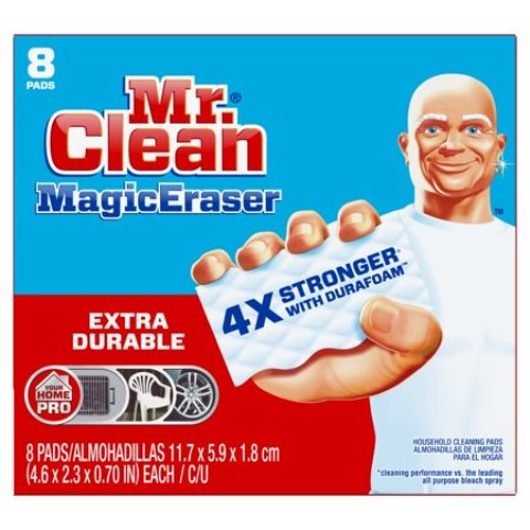MR. CLEAN MAGIC ERASER EXTRA POWER 8 PADS