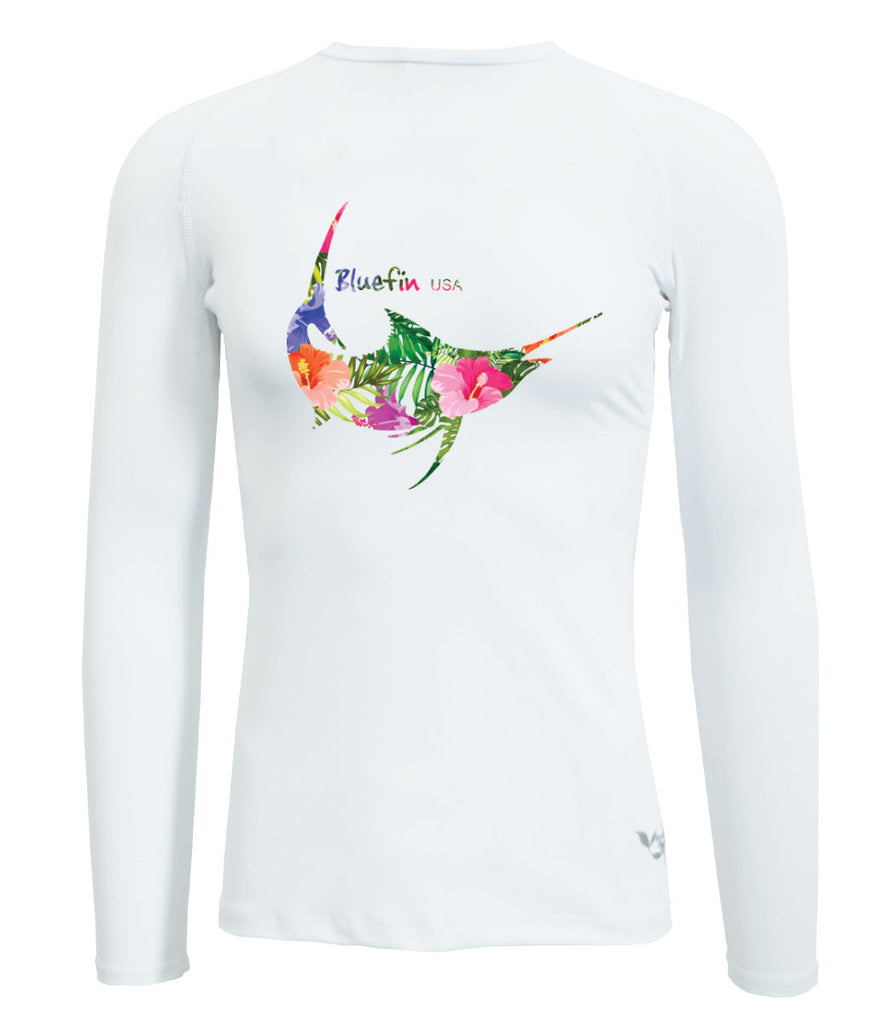 Bluefin Second Skin Solar Tees Color Blanco